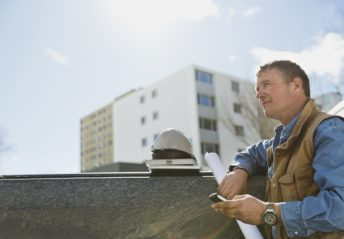 a general contractor working